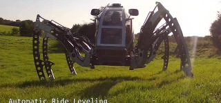 Futuristic Hexapod Walking Machine