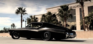 "1972 Classic Buick Riviera on Custom 22"" Lexani Forged Wheels"