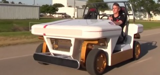 NASA's New Remote-Controlled Electric Vehicle: Modular Robotic Vehicle