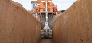 See the Amazing Power of both Disc and Chain Trenchers