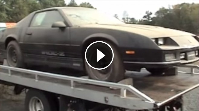 Untouched 1985 Iroc Z28 Is Found Abandoned