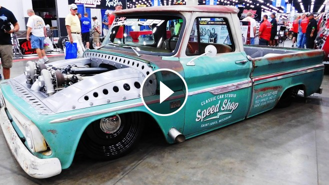 1966 Chevrolet C 10 Twin Turbo Shop Truck