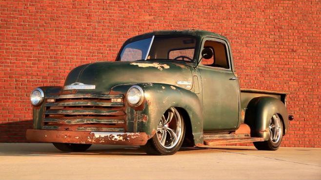 Ford Model B >> 1953 Chevrolet 3100 Patina Bagged Air Ride Slammed Hot Rod ...