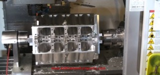How to Turn 386 Pound Aluminum Billet into 427 FE Engine Block