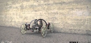 VertiGo - A Wall Climbing Robot by Disney Research & ETH Zurich