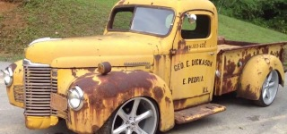 Insanely Awesome 1947 International Rat Rod Truck