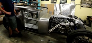 Jeb Greenstone's Insanely Impressive Twin Turbo Hot Rod in the Making