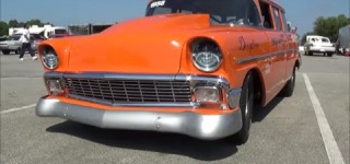 Progressive History of Deception Race Car: 1956 Chevrolet Belair Wagon