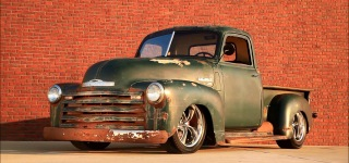 1953 Chevrolet 3100 Patina Bagged Air Ride Slammed Hot Rod Truck is Now on Sale!