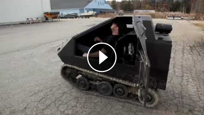 2016 Ford Trucks >> The World's Smallest Tank - The Bagger!