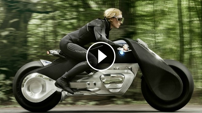 bmw motorrad vision next 100 bike of the future. Black Bedroom Furniture Sets. Home Design Ideas