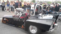 Fire Throwing Three-Wheel Drive Chevy with 3000HP Nitro Hemi is Worth to See!