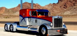 Perfectly Customized Peterbilt 359 - One of a Kind!