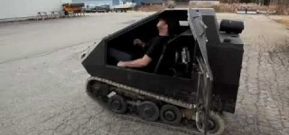 The World's Smallest Tank - The Bagger!