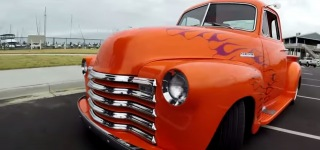 Stunningly Renewed 1951 Chevrolet Truck Travels All Across the Coast