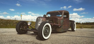 1936 Chevy Rat Rod, One of a Kind!