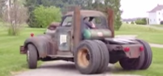 V12 Detroit Diesel Powered Badass Rat Rod Hits the Road with Pure Charisma