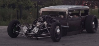 Kevin Wittrock's Gorgeously Charismatic 1931 Rat Rod Street Fighter!