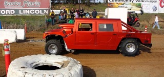 Wait for It: Badass Hummer Drives at Santa Maria Raceway!