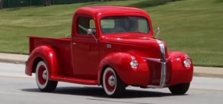 1941 Model Hot Rod Ford F1 Pickup Truck Looks Fantastically Cool