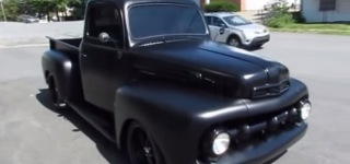 Extremely Charismatic 1951 Model Ford F1 Restomod