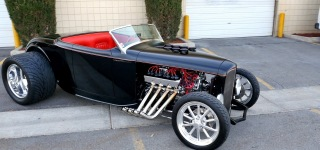 Cartooned Out Hot Rod: The Sickest Hot Rod One Can Ever See!