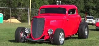 Chevrolet 502 Big Block Powered 1934 Model Ford Street Hot Rod