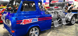 Gordon Tronson's Four Engine 4000Hp 1962 Ford Equadoline Drag Truck