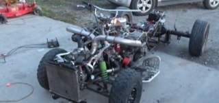 A 5.0L HO + Turbocharger + Quad= Something Extremely Cool