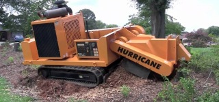 J. P. Carlton's Turbocharged John Deere Diesel Powered Versatile Stump Cutter