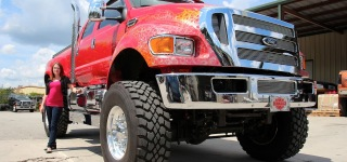 Extraordinarily Big Pickup Trucks Are the Emperors of Customized Vehicles