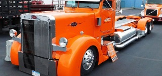 435 Hp Caterpillar Engine Powered Chopped 1995 Peterbilt 379 Is Worth to See