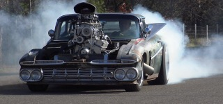 The Nicest Rat Rod So Far: 800Hp 1959 Blown Hulk El Camino by In the Weeds Hot Rods
