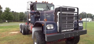 Monstrously Cool 12V71 Detroit Powered 1971 Model Kenworth