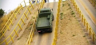 Ultra-Powerful KrAz Military Truck's Trial Drive in Africa