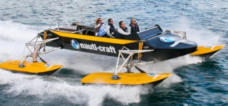 Nauti-Craft's Ingeniously Designed 2Play Marine Suspension Prototype: A Truly New Impulse in Marine Technology