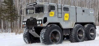 "Russia-Made All Terrain Amphibious Vehicle ""Burlak"" Is Ready To Explore the Toughest Terrains on the Earth!"