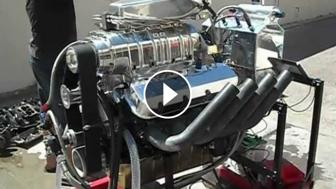 Chevy Muscle Cars >> 1500+Hp Big Block Chevy Blown Alcohol Engine Makes the ...