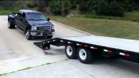 Take Notes People! This Is How Exactly Not to Load a Brand New Ford Truck on a Trailer