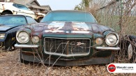 1970 Chevrolet Camaro Z28 RS: Mechanic Treasure Left in a Junk Yard