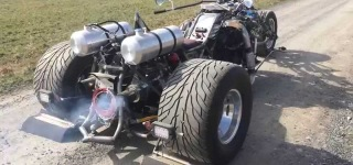 V8 Twin Turbo Powered Trike is Designed and Built to Perfection!