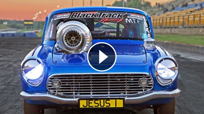 1965 Tiny Honda S600 Coupe Has A Giant 88mm Turbo Sticking
