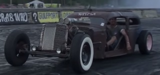 2017 Atomic Blast Rat Rod Event Gives Us By Far the Best, the Baddest and the Coolest Burnouts
