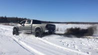 Badass Lifted Cummins Pulls Out Stucked Duramax Like a Boss!!!