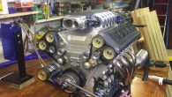 Keith Harlow's Absolute Masterpiece: Nicely Built Fuel Injected 1/3 Scale V10 Model Engine
