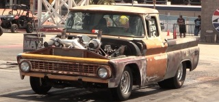 1963 Chevrolet C10 Is Transformed Into a Badass Racing Machine with a Set of Turbos