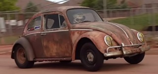 Volkswagen Beetle Looks Cooler Than Ever with Its Dirty Rusty Exterior