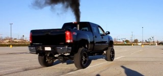 The Craziest Acceleration Ever: Badass Twin Turbo Duramax Launching with Boost