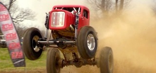 Badass Mega Truck With Insane Power Drives Like a Mechanic Beast