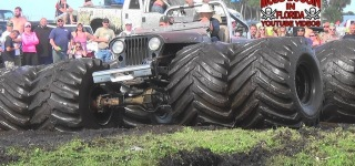 This Can't be Real: Gigantic Mega Monster Jeep with Gigantic Tires Is Gonna Amaze You